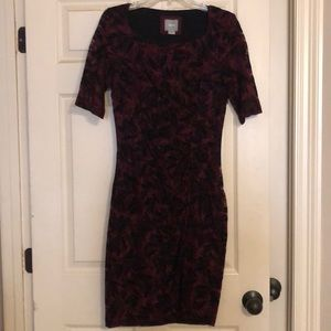 Anthropologie fitted dress